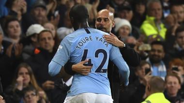 Guardiola se defiende de las acusaciones de racismo lanzadas por Yaya Touré