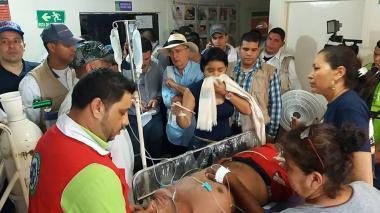 Policía dice que ataque de abejas a acto de Uribe no fue un sabotaje