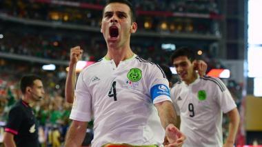 El defensor mexicano Rafael Márquez está listo para vivir su quinto Mundial de fútbol con su Selección.