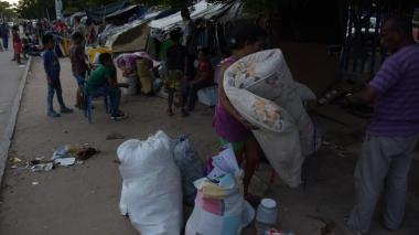 Varios venezolanos decidieron irse de la Terminal.
