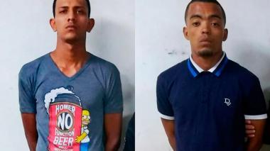 Isaac Rodríguez y Daniel Mendoza, detenidos.