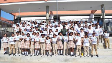 Estudiantes de colegios del Distrito, aliados en la prevención de consumo de drogas