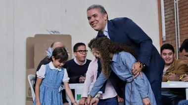 """Duque ya votó: """"Hice una campaña sin agravios"""""""