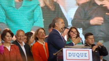 EEUU felicita a Duque y le ofrece apoyo contra narcotráfico