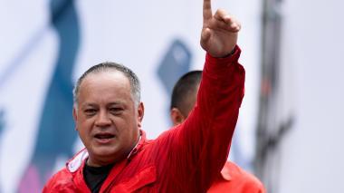 El líder chavista, Diosdado Cabello.