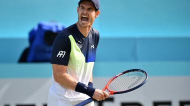 Murray pierde en Queen's tras un año fuera del tenis