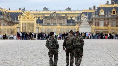 Fachada del Palacio de Versailles en Francia.