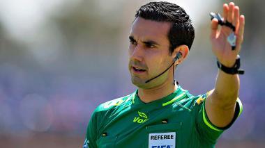 El mexicano César Ramos dirigirá el juego entre Colombia y Polonia