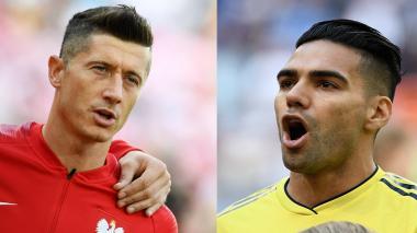 Falcao vs. Lewandowski: Atractivo duelo de cañoneros