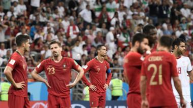 Portugal sufre, pero clasifica: empató 1-1 ante Irán