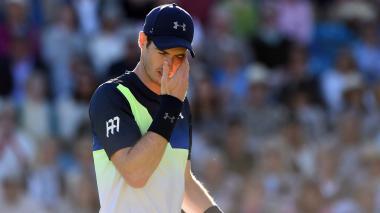 Murray pierde en Eastbourne y duda sobre Wimbledon