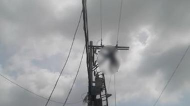 Operario de Electricaribe resulta herido tras recibir descarga eléctrica