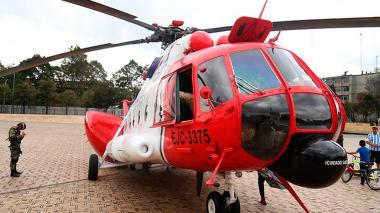 Helicóptero de 'Operación Jaque' estuvo en exhibición
