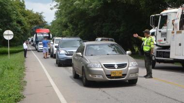 En Santa Marta se movilizaron 70.830 vehículos durante puente festivo