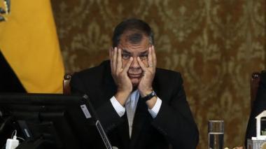 Fiscalía de Ecuador pide prisión preventiva para expresidente Correa
