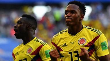 Barcelona halaga la gran actuación de Yerry Mina en el Mundial