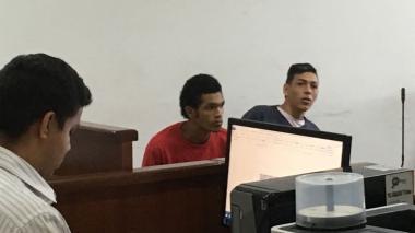 Jesús González Martínez y Carlos Daniel Cuello Torres, presuntos sicarios.
