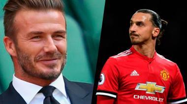 La apuesta que perdió Ibrahimovic contra David Beckham y lo que deberá hacer