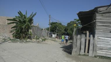 Sector en donde fue hallado el cuerpo desmembrado la madrugada de este domingo.
