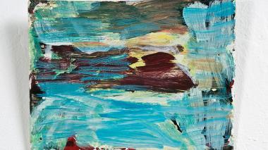 'Violet mountain', del artista Danilo Dueñas.
