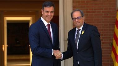 Madrid y Cataluña retoman el diálogo pero con posiciones muy alejadas