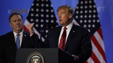 Trump urge a sus aliados de la OTAN duplicar el gasto militar