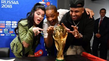 Will Smith, Nicky Jam y Era Istrefi listos para la ceremonia de clausura del Mundial