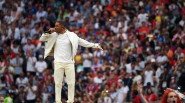 En video   Así fue la emoción de Will Smith antes de su presentación en el Mundial