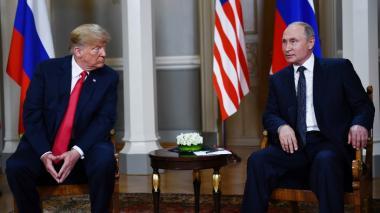 Comienza la primera cumbre entre Donald Trump y Vladimir Putin