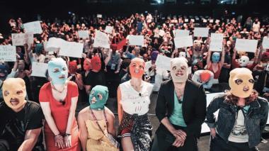 Desde 2011 Pussy Riot ha liderado diversas manifestaciones artísticas contra El Kremlin.