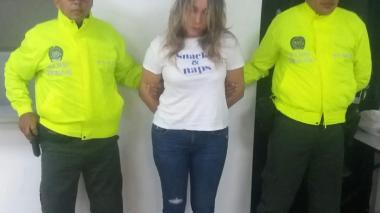 La capturan tras hallarle en su poder tres celulares hurtados