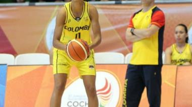 Yanet Arias, líder 'emprendedora' del baloncesto de Colombia