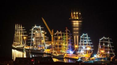 La fiestas de las velas del 'Sail 2018' se toman Cartagena
