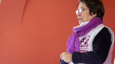 Aída Avella, senadora de los Decentes.