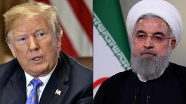 """""""Nunca más vuelvas a amenazar a Estados Unidos"""", advierte Trump a Irán"""