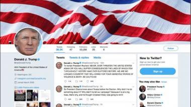 Crece tensión Trump- Irán con tuits amenazantes