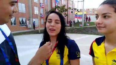 En video   La delegación colombiana femenina de karate habla sobre sus cábalas