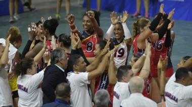 Dominicana logró su quinta medalla de oro en línea en el voleibol femenino