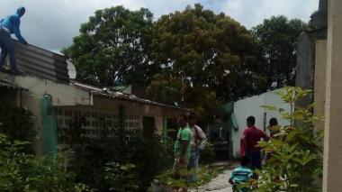 Desvalijan colegio abandonado en el sur de Montería