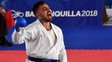 Colombia cierra con plata su actuación en karate