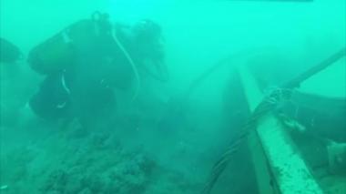 En video | Un parque submarino en el mar del Líbano