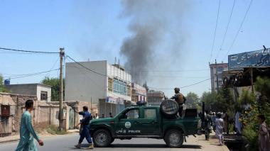 Once muertos al explotar una mina al paso de un autocar en Afganistán