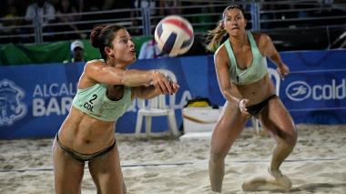Yuli y Diana, por el oro en el voleibol playa