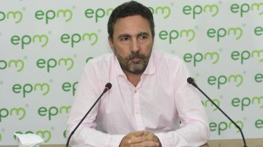 El gerente de EPM, Jorge Londoño de la Cuesta.
