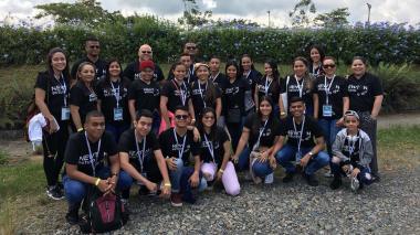 Estudiantes de la IED El Campito, en Encuentro Nacional de Colciencias