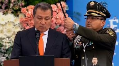 El presidente del Congreso Ernesto Macias.