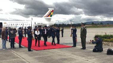 Evo Morales llegó al país para la posesión de Iván Duque