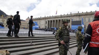 La Plaza de Bolívar será custodiada por 8.500 policías.