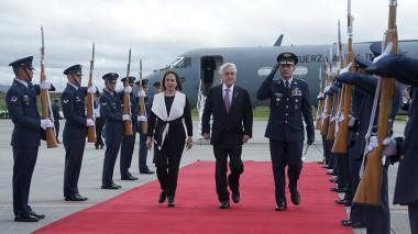 """Piñera deseó a Duque """"un gobierno de progreso, justicia y paz"""""""