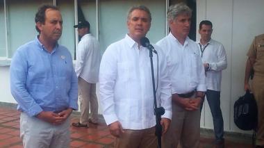 Duque asume cinco compromisos con San Andrés, en su visita de ayer